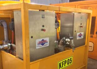 flushing rig hydraulic equipment hire karratha fluid
